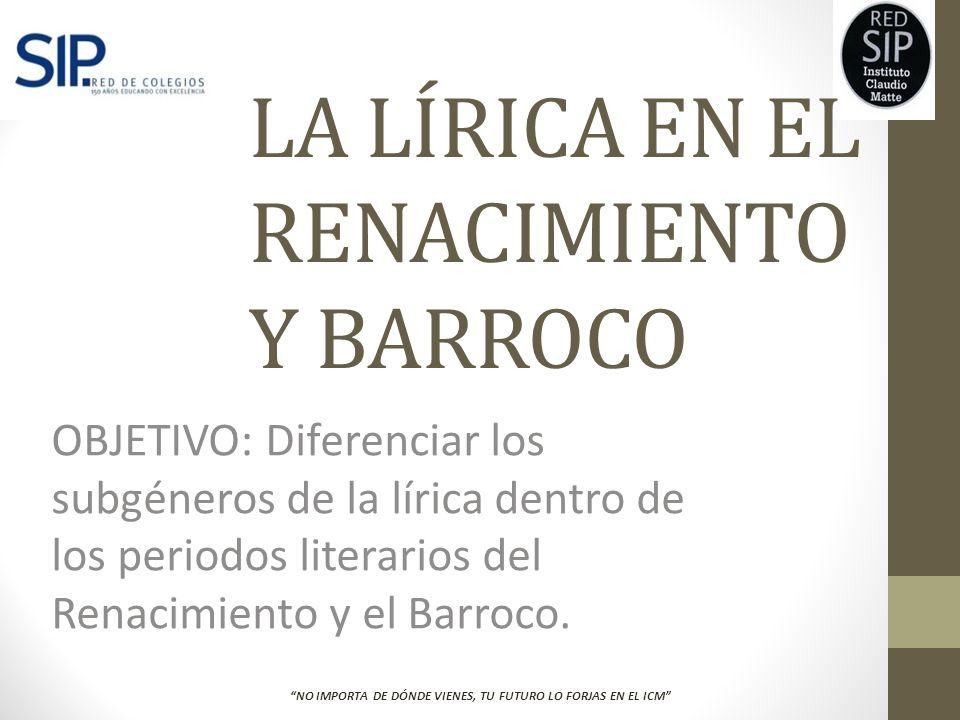1.Nombra dos características del Barroco.