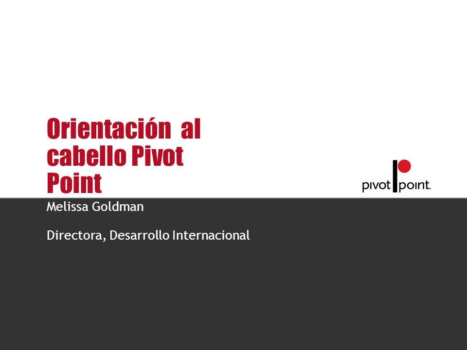 Pivot Point International Orientación al cabello Pivot Point Melissa Goldman Directora, Desarrollo Internacional
