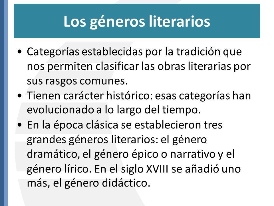 Desarrollo de una historia, una sucesión de acciones: función referencial + poética Narrador intermediario entre historia y lector (narrador-hechos narrados son ficticios) Objetividad.