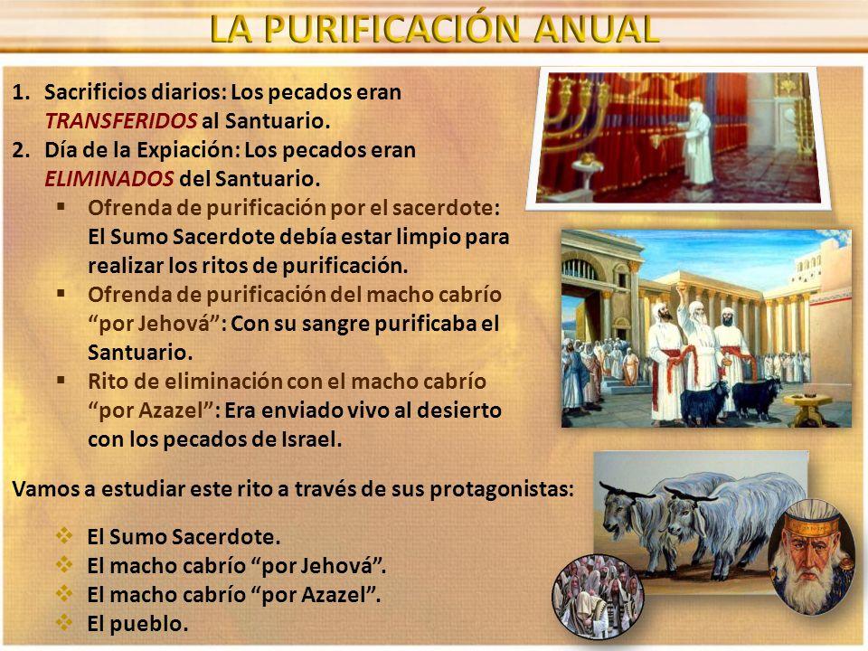 Hará la expiación el sacerdote que fuere ungido y consagrado para ser sacerdote en lugar de su padre; y se vestirá las vestiduras de lino, las vestiduras sagradas.