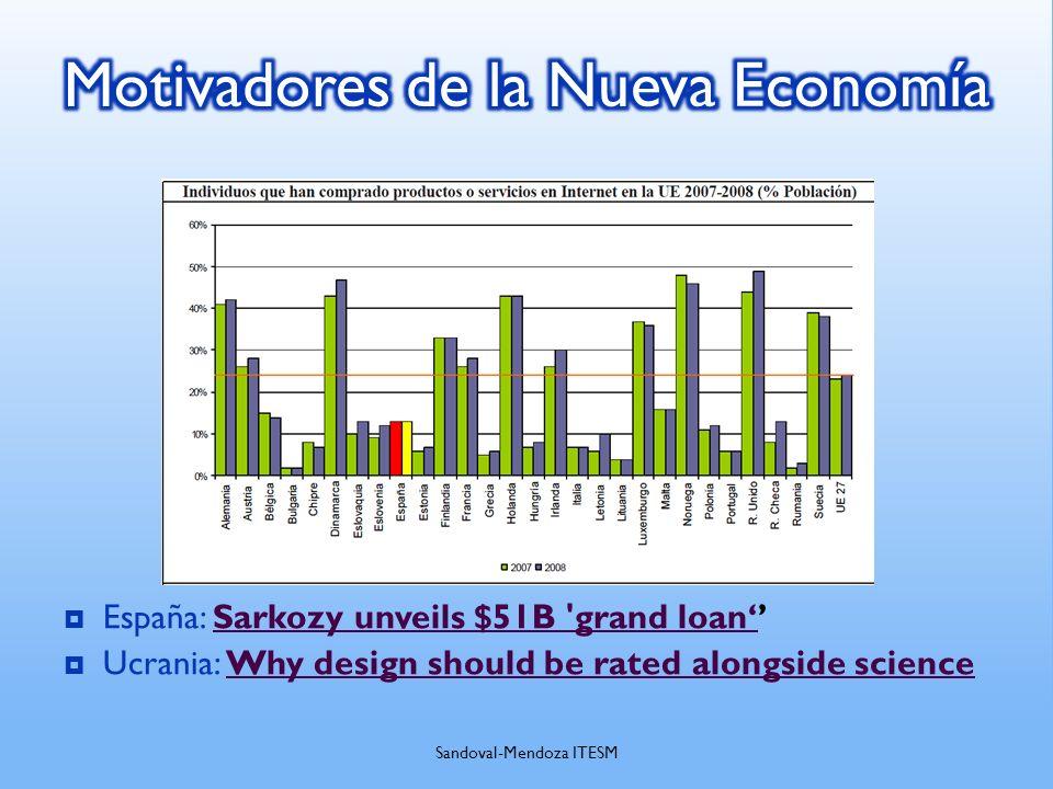 España: Sarkozy unveils $51B 'grand loanSarkozy unveils $51B 'grand loan Ucrania: Why design should be rated alongside scienceWhy design should be rat