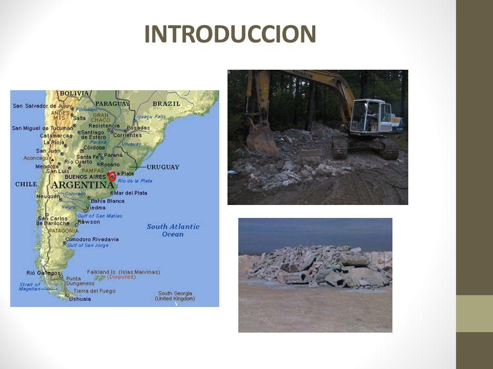La CE en el 2009 generó unos 250 millones de ton/año (28 % fueron reutilizados) En Alemania los RCD ascienden a 88,6 millones de ton/año, el 69 % en materiales de construcción y 3,1 % agregado para hormigón Holanda genera anualmente 20 millones de ton/año de RCD, 95 % es reutilizado en subbases y 3,3 % en nuevos hormigones En Argentina no existen datos precisos sobre la producción de hormigón pero se estima en unos 4,000.000 m 3 pero no aparecen mayores ejemplos sobre el uso en reciclados