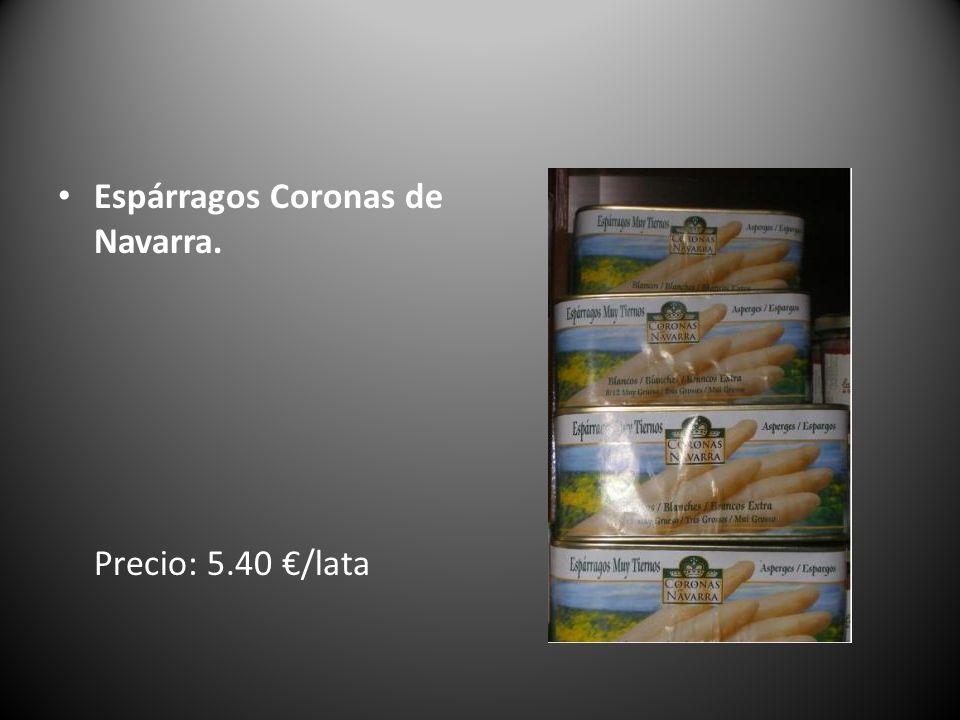 Espárragos Coronas de Navarra. Precio: 5.40 /lata
