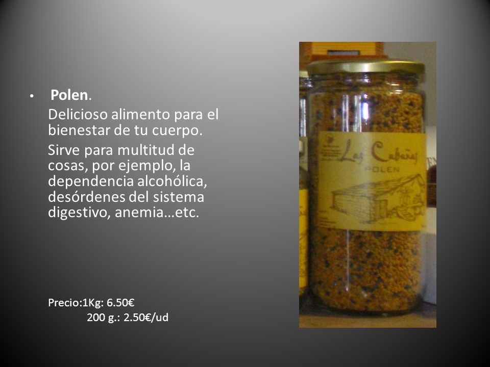 Carnicería Toñín Todos nuestros productos están elaborados artesanalmente y envasadas al vacío Morcillas Precio: 5.80 /Kg
