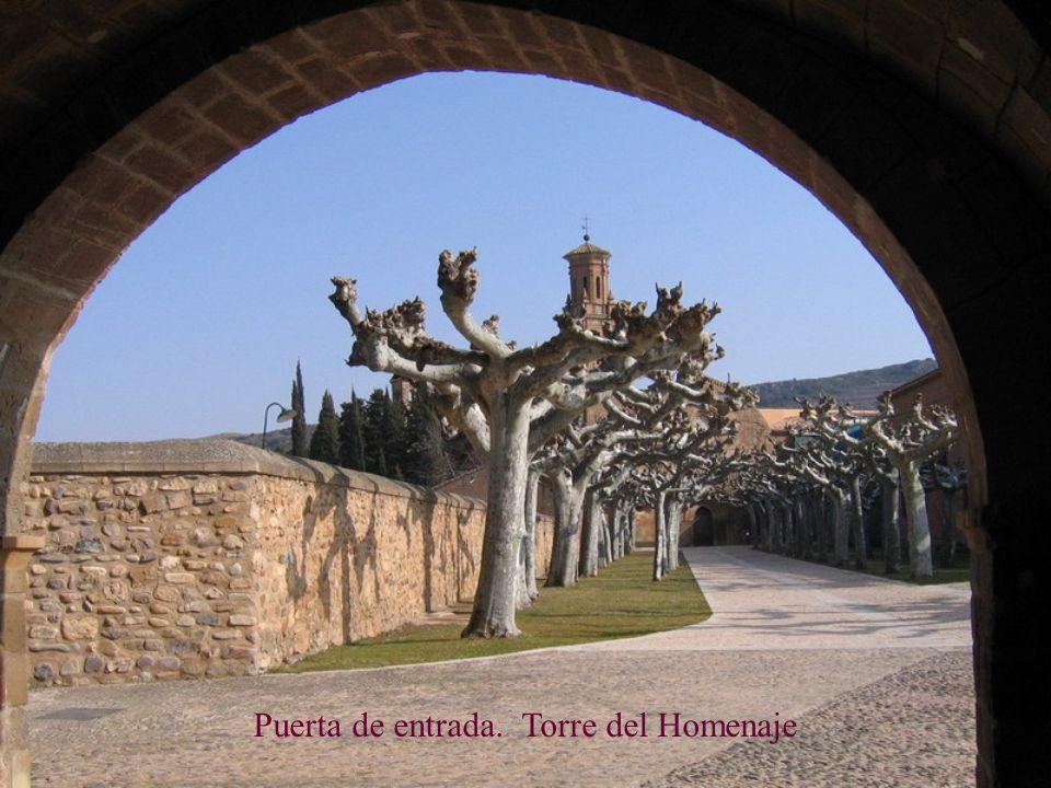 Puerta de entrada. Torre del Homenaje