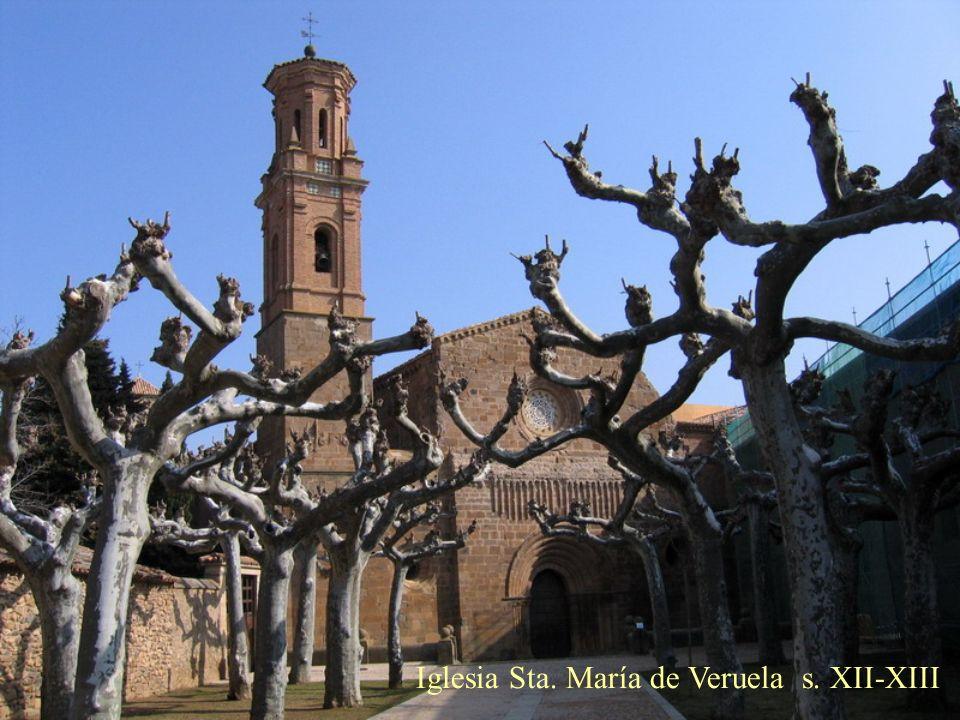 Iglesia Sta. María de Veruela s. XII-XIII