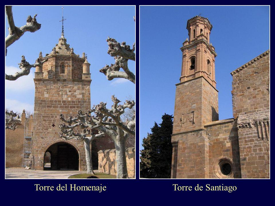 Torre del HomenajeTorre de Santiago