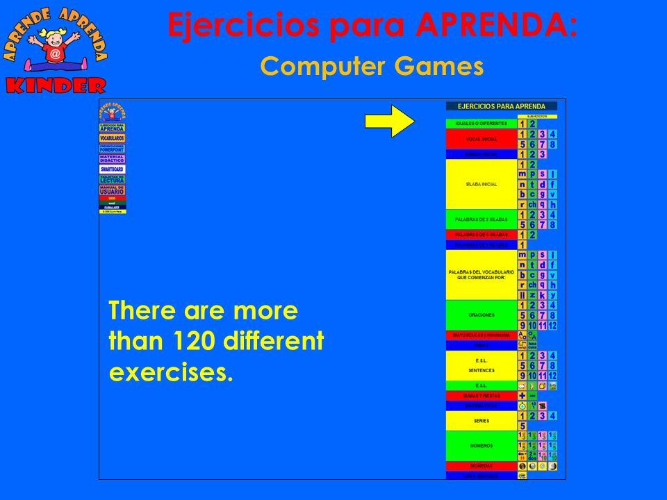 Ejercicios para APRENDA: Computer Games