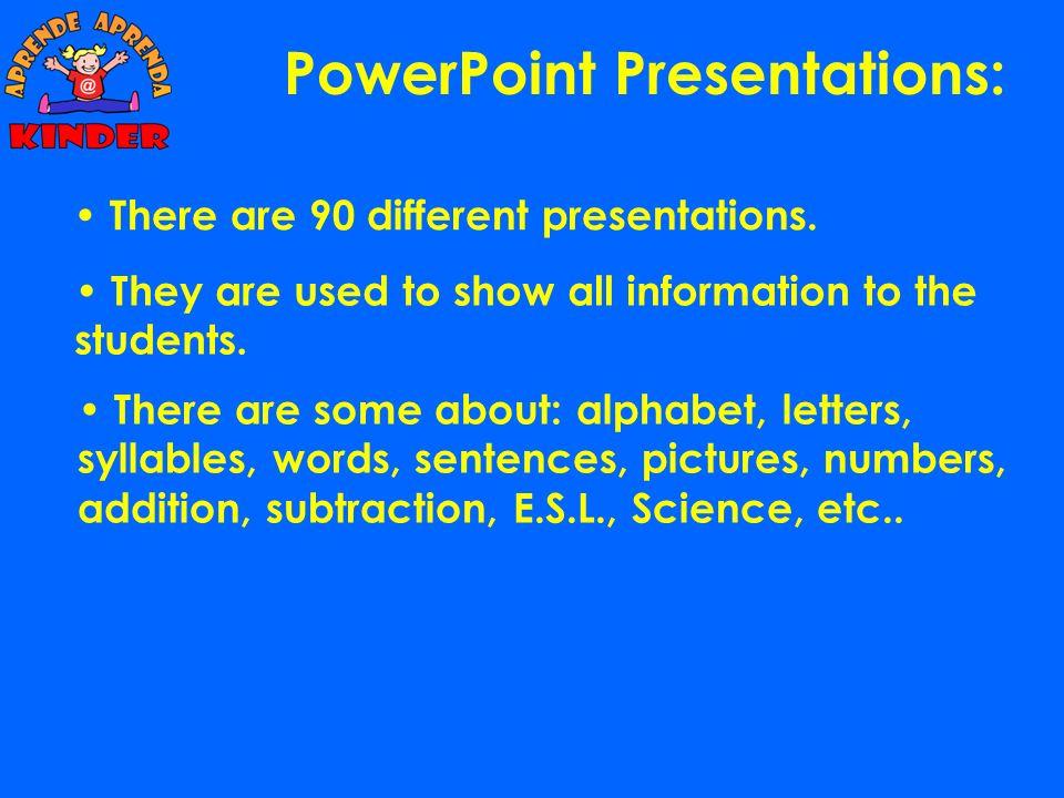 PowerPoint Presentations: