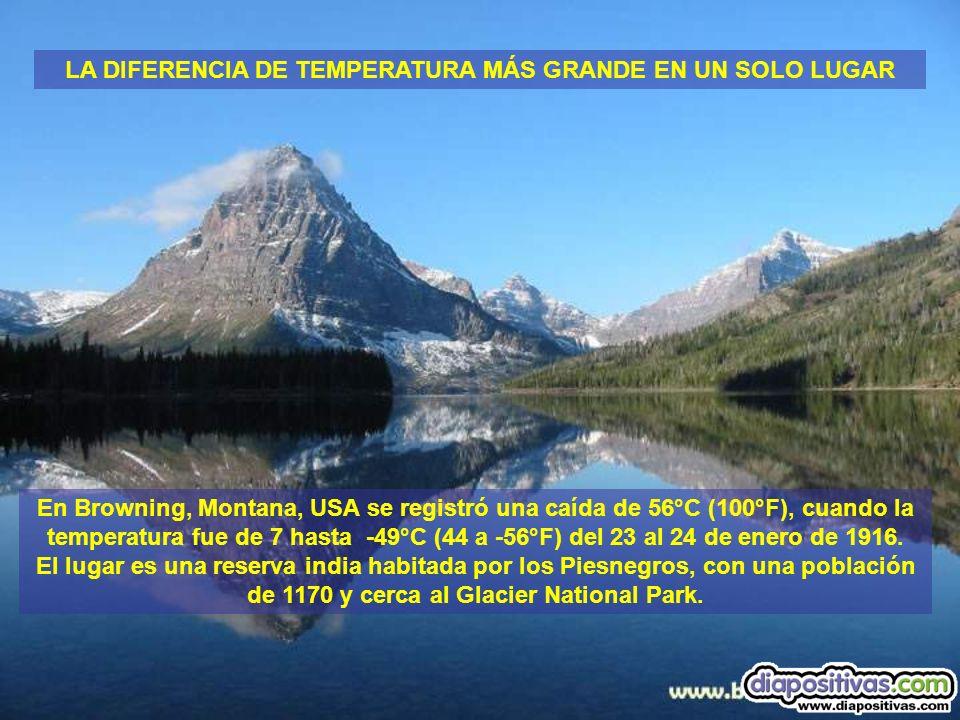 Para el período entre 1964 y 2001, la precipitación anual en la estación meteorológica de Quillagua, en el desierto de Atacama, Chile, fue de solo 0.5mm.