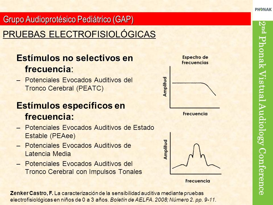 2 nd Phonak Vistual Audiology Conference 4% 1% 30% 15% 35% Importancia relativa 65% 95% F.