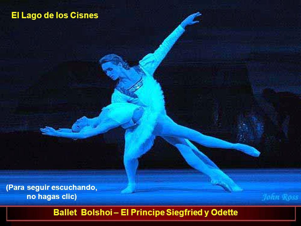 Ballet Bolshoi – El Principe Siegfried y Odette El Lago de los Cisnes