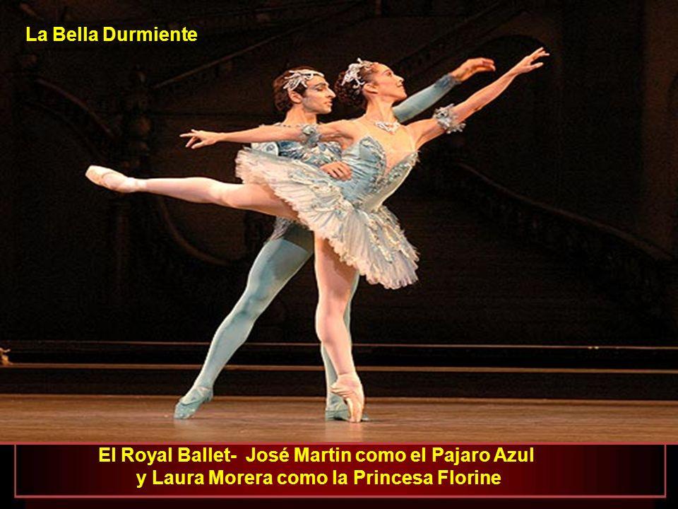 El Royal Ballet - Laura Morera como la Princesa Florine La Bella Durmiente