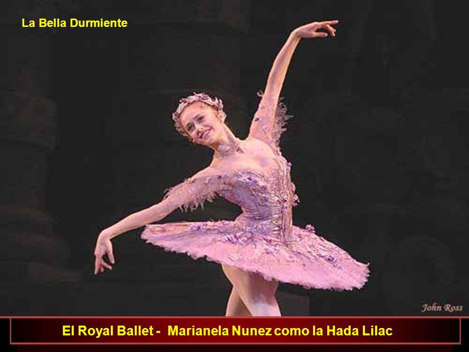 El Royal Ballet- José Martin como el Pajaro Azul y Laura Morera como la Princesa Florine La Bella Durmiente