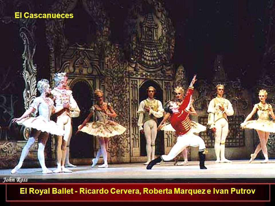 El Royal Ballet - Lauren Cuthbertson, Deirdre Chapman, Sarah Lamb y Laura Morera como Flores Importantes El Cascanueces