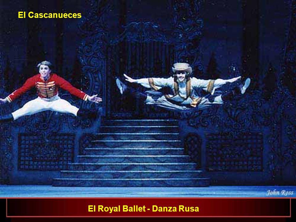 El Royal Ballet - Ricardo Cervera, Roberta Marquez e Ivan Putrov El Cascanueces