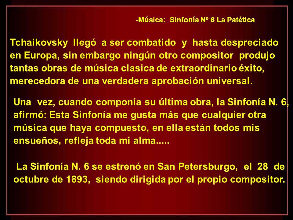 Así como el Concierto para piano no. 1 de Tchaikovsky, que desde su estreno en el año 1875, fue una de las obras de música clásica mas ejecutadas, tam