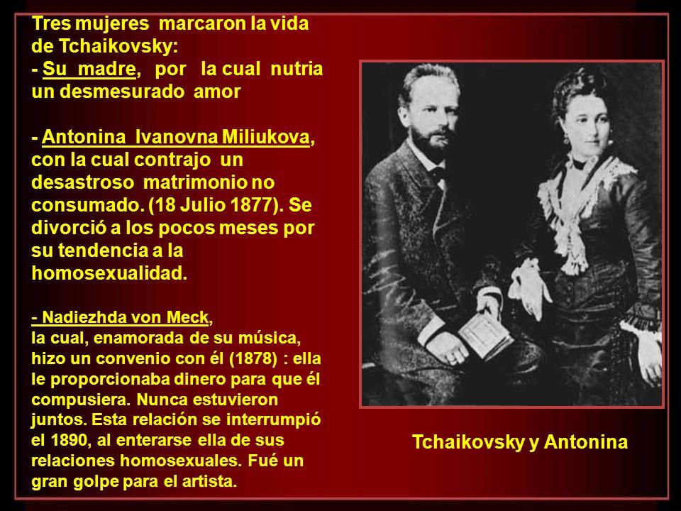 Como resultado de sus composiciones, Tchaikovsky consiguió una merecida gloria internacional. En los Estados Unidos su suceso fue tan grande que, el 5