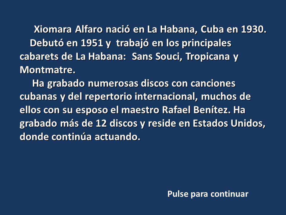 El pianista Enrique Chia, nació en Las Villas, Cuba en donde estudió piano.