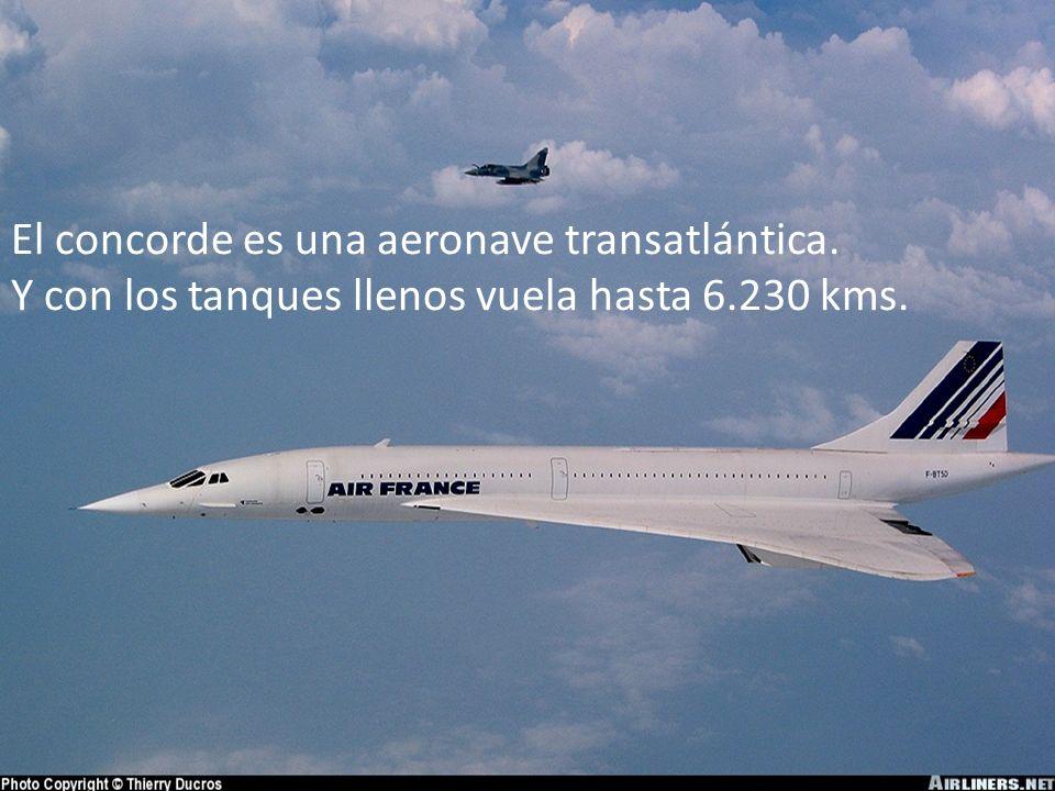 Sus tanques de combustible contenían 199,500 litros de queroseno de aviación. Su consumo era de 25,629 litros por hora.