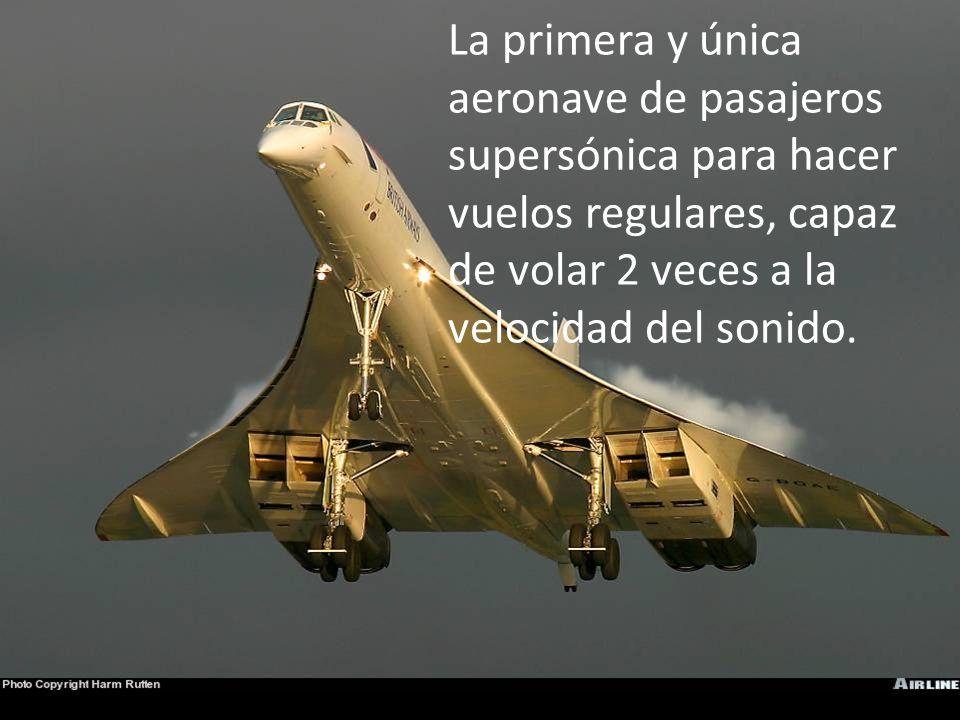 Aerospatiale – Concorde El Concorde
