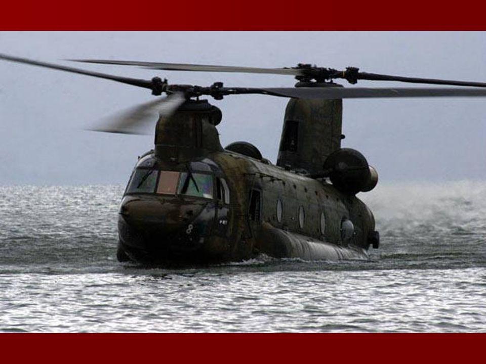 Un CH-47 Chinook en algún lugar de Afghanistan