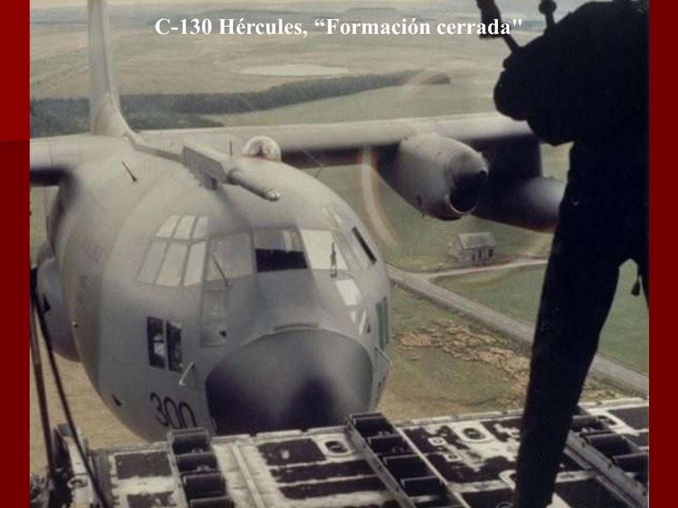 Un Mustang y su escolta realizan una pasada en una exhibición de las Fuerzas Aéreas.