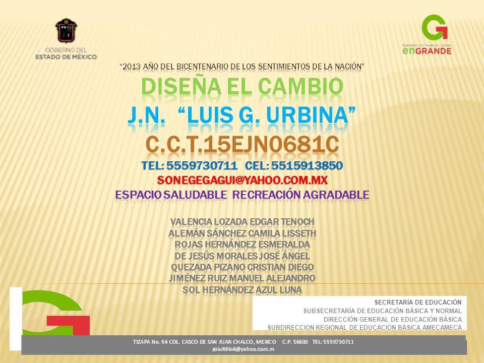 SECRETARÍA DE EDUCACIÓN SUBSECRETARÍA DE EDUCACIÓN BÁSICA Y NORMAL DIRECCIÓN GENERAL DE EDUCACIÓN BÁSICA SUBDIRECCION REGIONAL DE EDUCACIÒN BÀSICA AMECAMECA