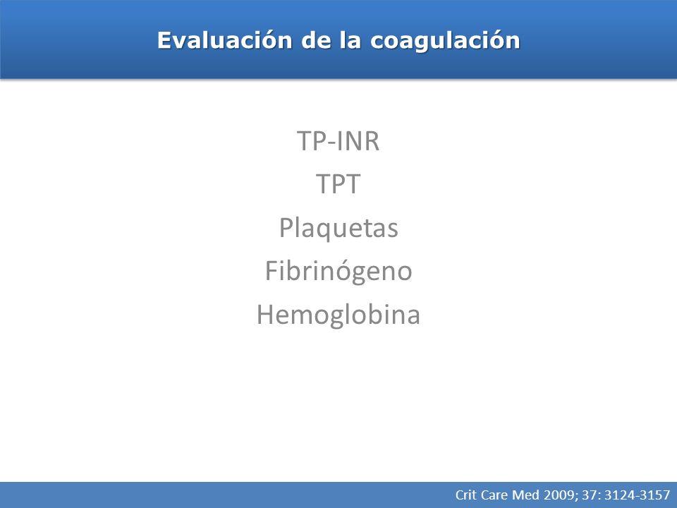 Transfusión de crioprecipitado Indicaciones Fibrinogeno <80-100 mg/dL en presencia de sangrado microvascular Transfusión masiva, sangrado, sin niveles de fibrinógeno Deficiencias congénitas de fibrinógeno Fibrinogeno <80-100 mg/dL en presencia de sangrado microvascular Transfusión masiva, sangrado, sin niveles de fibrinógeno Deficiencias congénitas de fibrinógeno Fibrinogeno <100-150 mg/dL según la posibilidad de sangrado o sangrado en espacio confinado 150-250 mg/dL Anesthesiology 2006; 105:198 –208