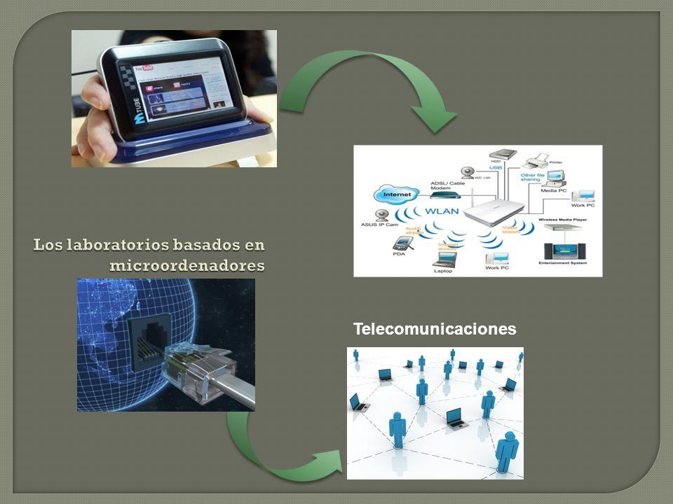 Los laboratorios basados en microordenadores Telecomunicaciones