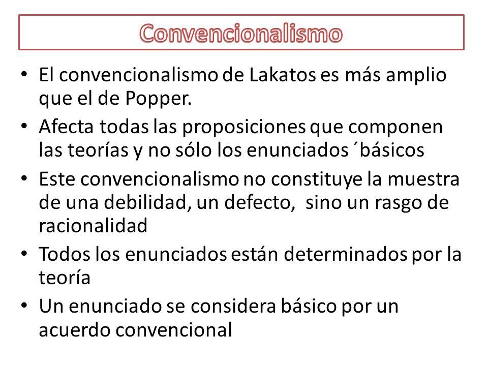 Establecer reglas de rechazo para teorías probabilísticas, infalsables para Lakatos.