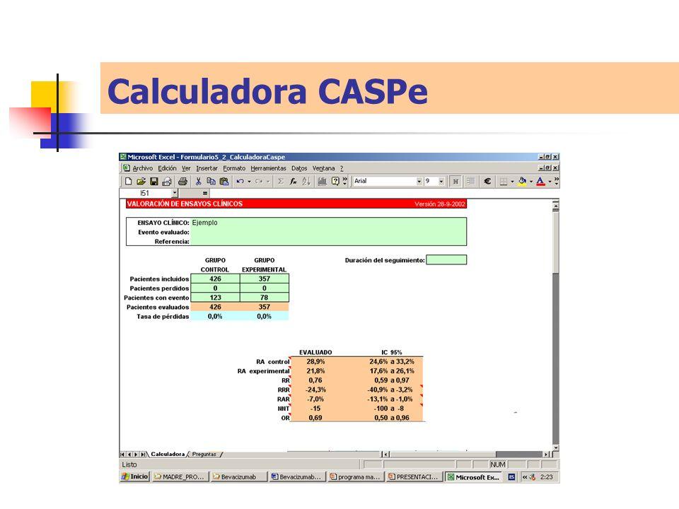 Calculadora CASPe
