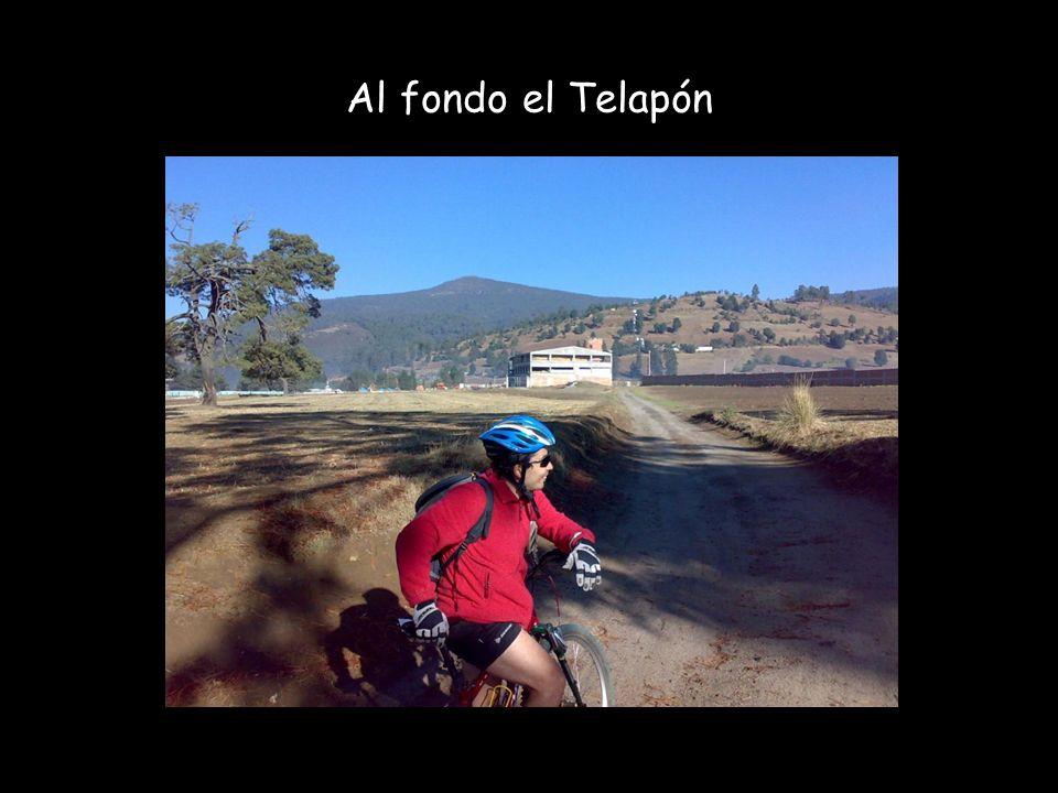 Punto de inicio: Arco de Llano Grande 3,207 msnm, 8:30 h