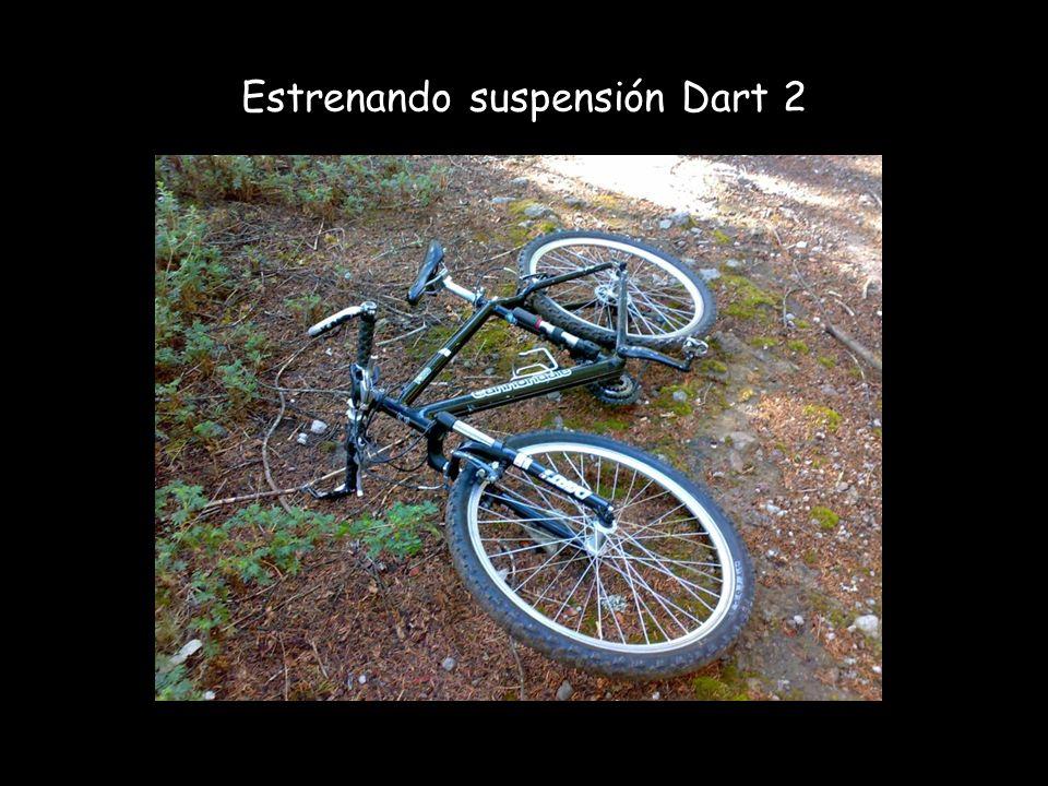 Estrenando suspensión Dart 2