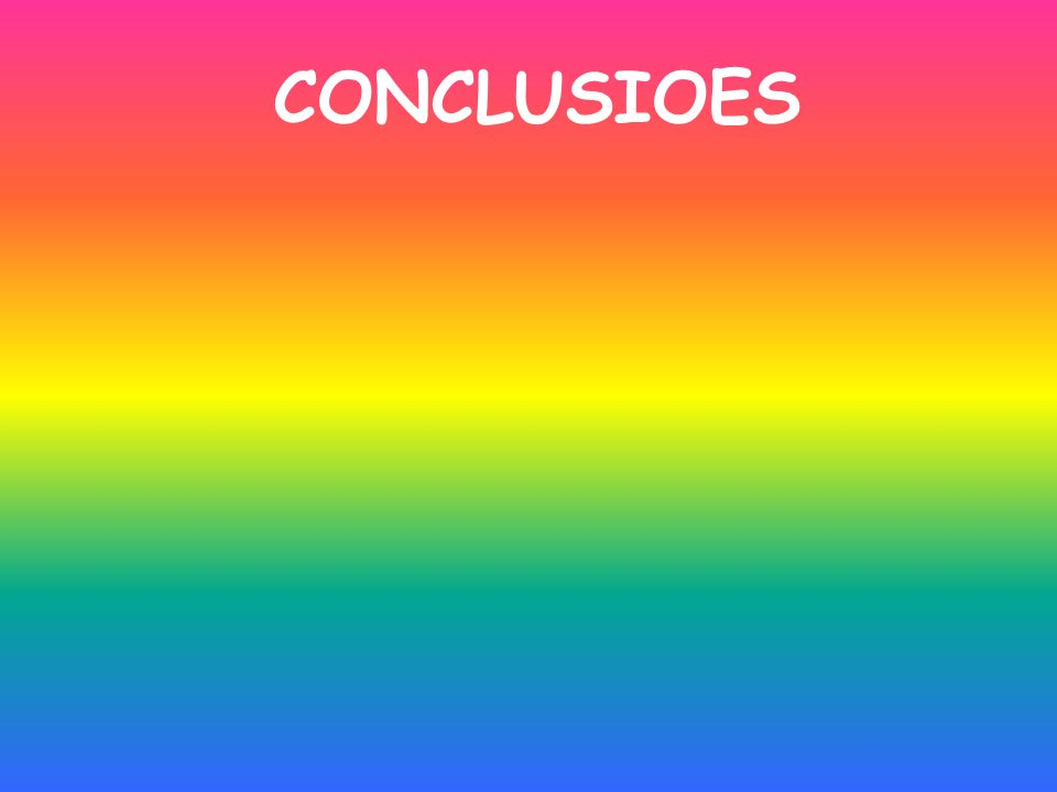 CONCLUSIOES