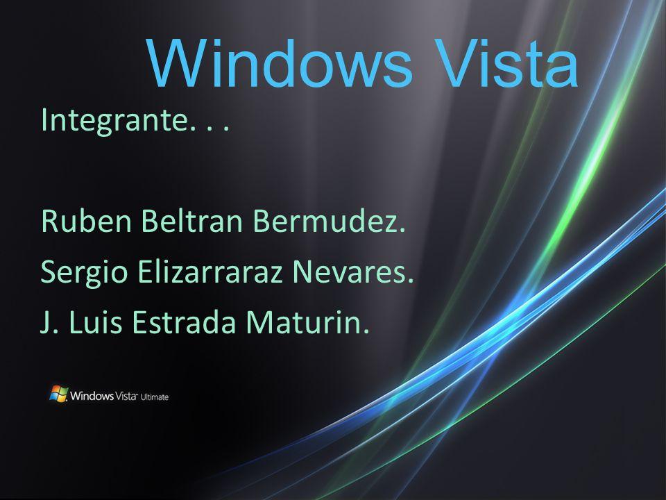Integrante... Ruben Beltran Bermudez. Sergio Elizarraraz Nevares.