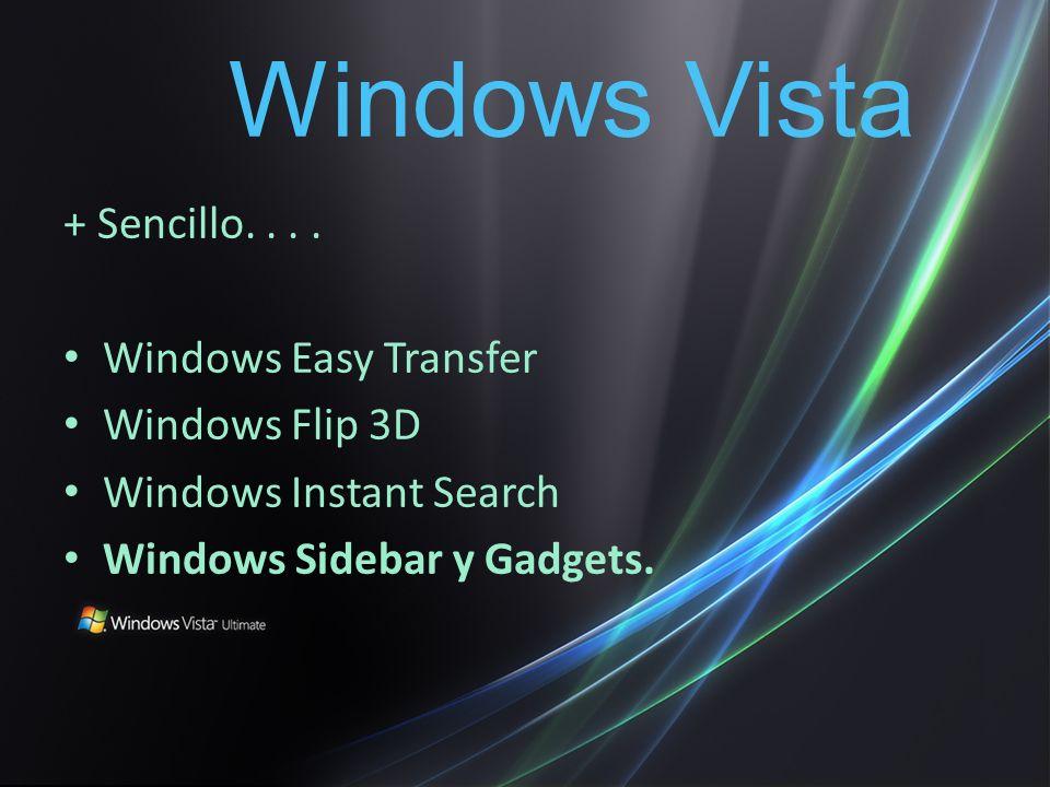 + Entretenido....Windows Media Center Monitores con mayor resolución.