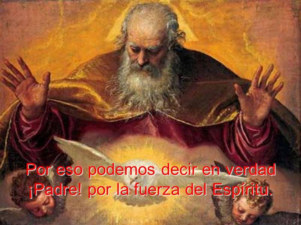 sino que nos ha hecho hijos suyos, nos ha adentrado en su hogar y nos ha hermanado a su propio Hijo Unigénito.