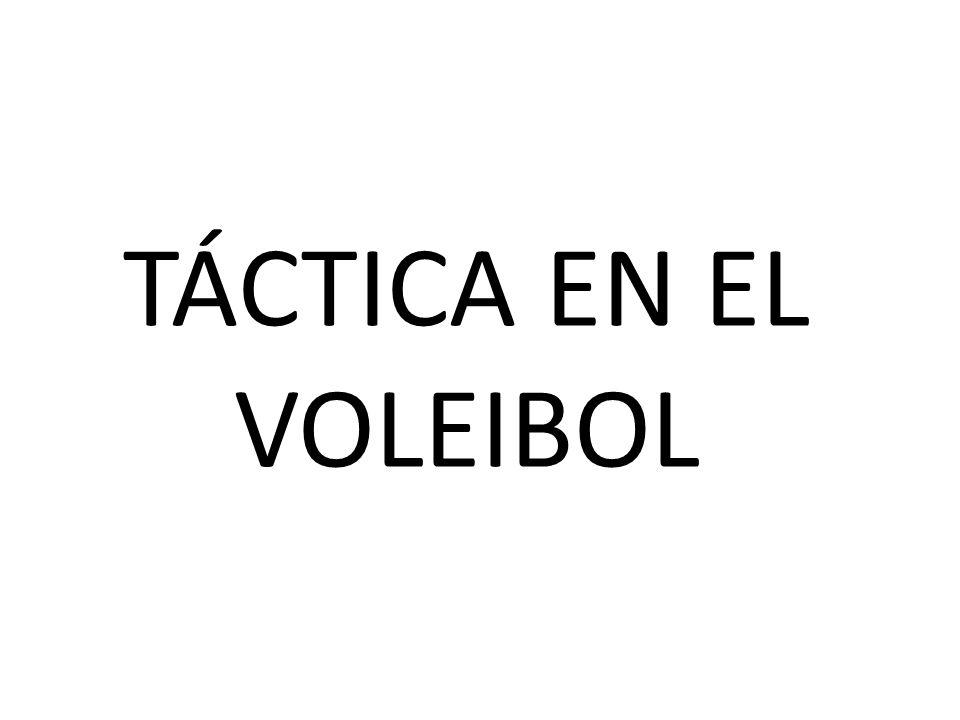 TÁCTICA EN EL VOLEIBOL