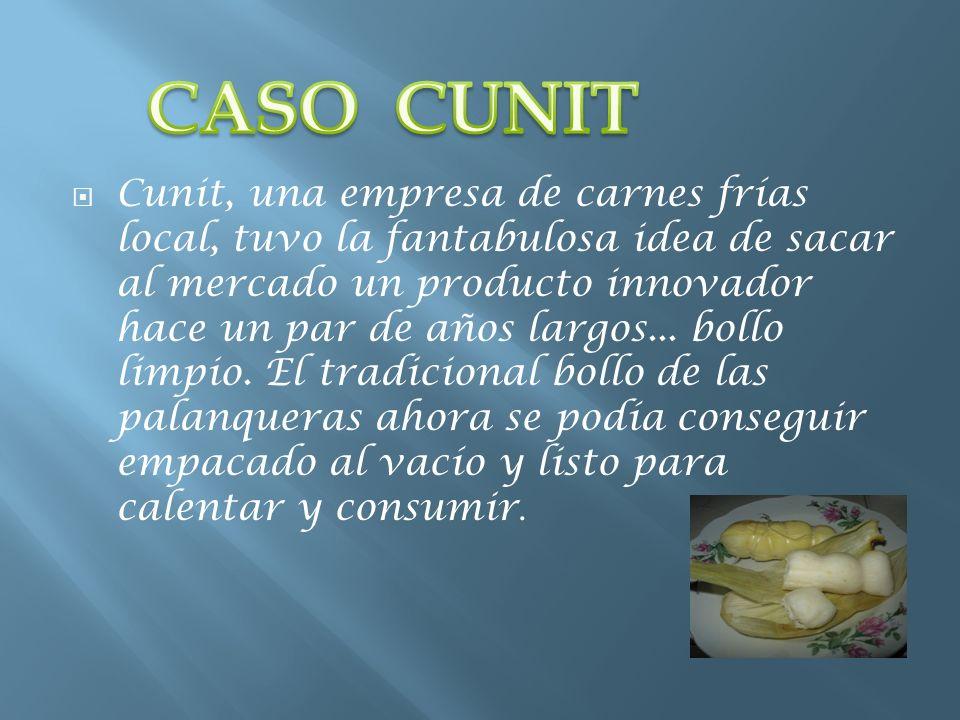 Cunit, una empresa de carnes frías local, tuvo la fantabulosa idea de sacar al mercado un producto innovador hace un par de años largos... bollo limpi