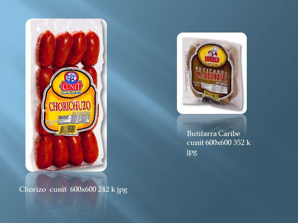 Chorizo cunit 600x600 242 k jpg Butifarra Caribe cunit 600x600 352 k jpg