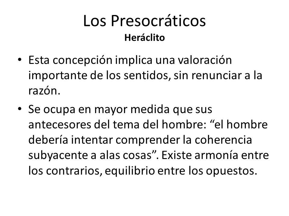 Los Presocráticos Heráclito Heráclito propuso como sustancia primordial el fuego. La realidad se halla en constante devenir. Este devenir no es caótic