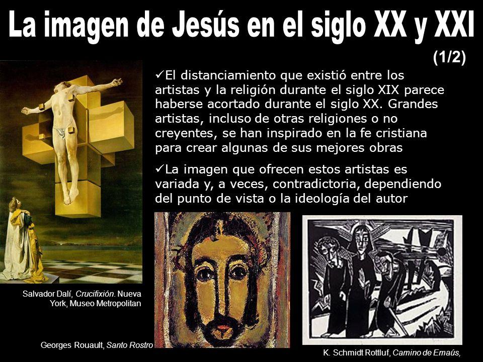 El distanciamiento que existió entre los artistas y la religión durante el siglo XIX parece haberse acortado durante el siglo XX.