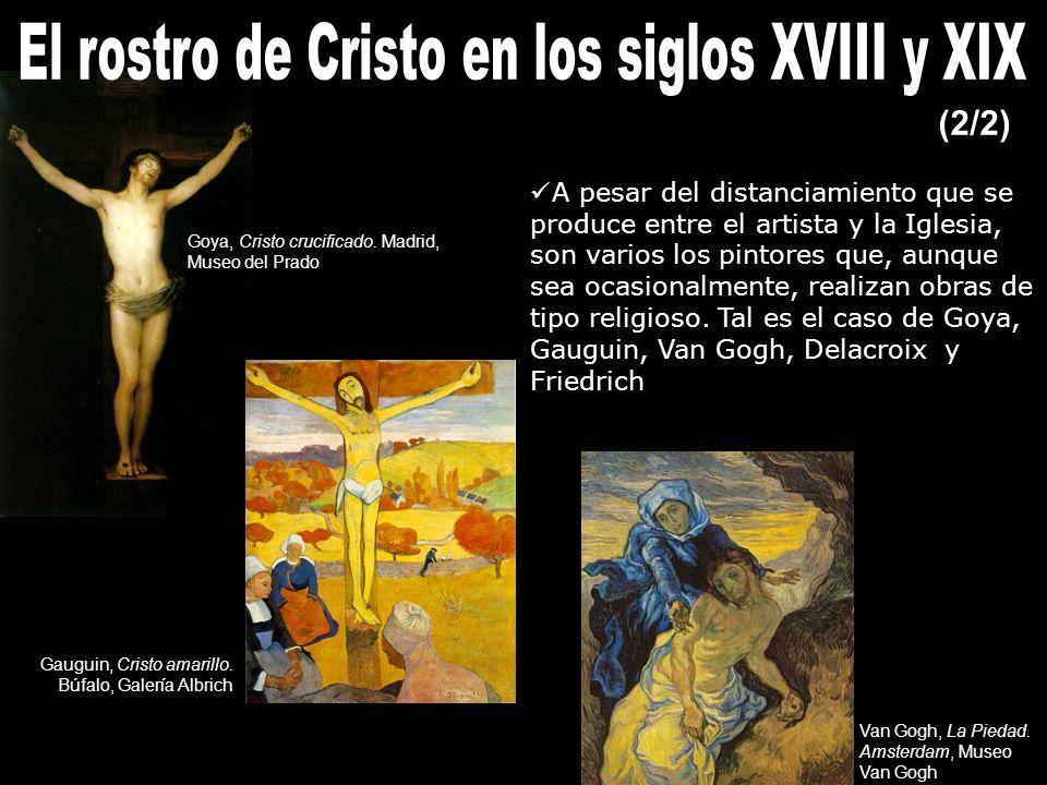 A pesar del distanciamiento que se produce entre el artista y la Iglesia, son varios los pintores que, aunque sea ocasionalmente, realizan obras de tipo religioso.
