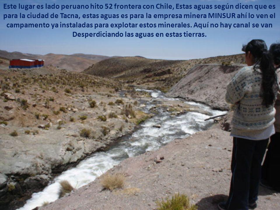 Toda esta agua es el rio uchusuma se llevaron el 100% dejando cero a la comunidad Ancomarca tripartita, no conforme la ambición la cegó se trajeron el