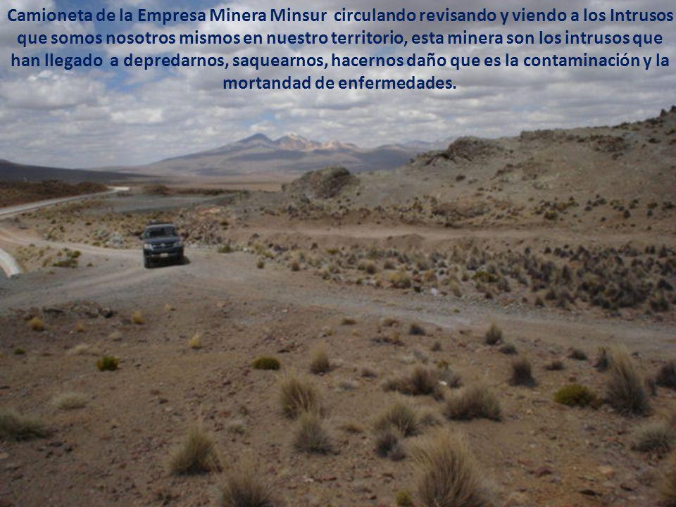Este lugar es lado peruano hito 52 frontera con Chile, Estas aguas según dicen que es para la ciudad de Tacna, estas aguas es para la empresa minera M