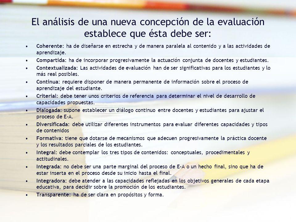 A manera de conclusión Características de la evaluación centrada en el aprendizaje DINÁMICAPERMANENTEFORMATIVACONTINUACIENTÍFICAINTEGRALPARTICIPATIVAFLEXIBLESISTEMÁTICA