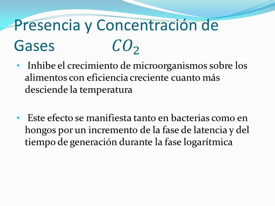 Inhibe el crecimiento de microorganismos sobre los alimentos con eficiencia creciente cuanto más desciende la temperatura Este efecto se manifiesta ta
