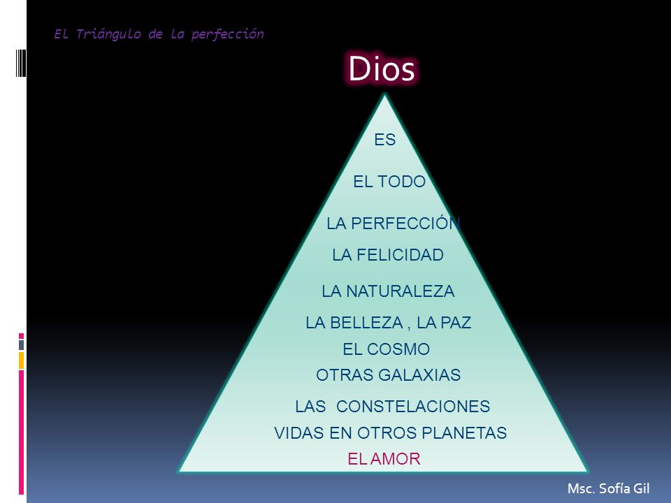 El Triángulo de la perfección EL AMOR VIDAS EN OTROS PLANETAS OTRAS GALAXIAS LAS CONSTELACIONES LA BELLEZA, LA PAZ LA NATURALEZA LA FELICIDAD EL COSMO