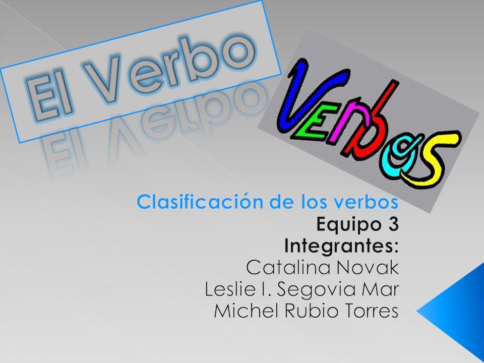 Los verbos se pueden clasificar, en términos, generales, a partir de los siguientes criterio: por su flexión o conjugación, por su significado y por su estructura.